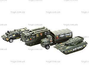 Набор служебных машинок, 6 видов, PT2050, цена