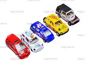 Набор игрушечных машин, 5 штук, PT2051, цена
