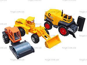 Набор машинок «Спецтехника», PT2071, магазин игрушек