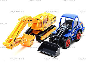 Набор машин «Строительная техника», PT2073, детские игрушки