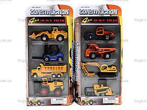 Игровой набор машин «Спецтехника», PT2072, toys