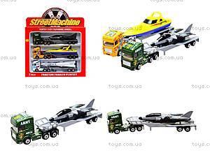 Набор игрушечных трейлеров-тягачей, PT2002
