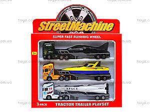 Набор игрушечных трейлеров-тягачей, PT2002, цена