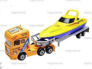 Набор игрушечных трейлеров-тягачей, PT2002, игрушки