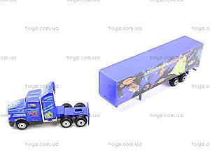 Инерционный трейлер с прицепом, PT304, детские игрушки