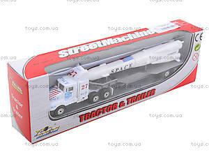 Инерционный трейлер с прицепом, PT304, магазин игрушек