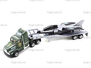 Инерционный трейлер с прицепом, PT304, іграшки