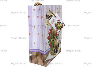 Пакет бумажный подарочный Popcorn Bear, PO14-265K, купить