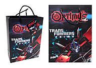 Пакет бумажный подарочный Transformers, TF14-265K, фото