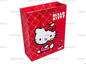Пакет бумажный подарочный Hello Kitty, HK14-266K, купить