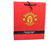 Подарочный пакет Manchester, MU14-266K, отзывы