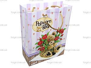 Пакет подарочный «Медвежонок Попкорн», PO14-266K