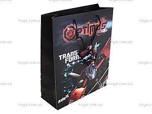 Пакет бумажный с ручками Transformers, TF14-266K, фото