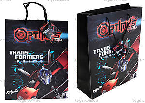 Пакет бумажный с ручками Transformers, TF14-266K