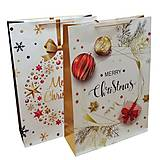 "Пакет гигант картон ""MERRY CHRISTMAS"" 2 вида в упак, 7259, тойс ком юа"