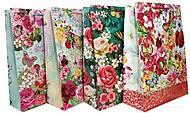"""Пакет картонный """"Цветочный сад"""" МИКС 4 вида (6шт в упак), 3226"""