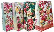 """Пакет картон """"Цветочный сад"""" МИКС 4 вида (4шт в упак), 257, игрушки"""