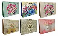 """Пакет картон """"Цветы"""" МИКС 6 видов  3шт в упак, 2287, отзывы"""