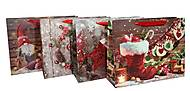 """Пакет картон """"Новогодняя атмосфера №4"""" 4 вида в упак, 7200, тойс"""