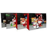 """Пакет картон """"Новогодняя компания №4"""" 4 вида в упак, 7206, тойс ком юа"""