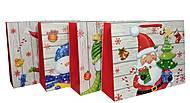 """Пакет картон """"Новогодние герои №2"""" 4 вида (6 шт в упак), 7198, интернет магазин22 игрушки Украина"""