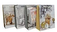 """Пакет картон """"Новогодние подарки №2"""" 4 вида (6 шт в упак), 7160, цена"""