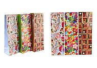 Пакет бумажный микс расцветок (3шт в упаковке), СПК0253, доставка