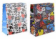 Пакет подарочный, с ярким рисунком, 4 штуки, АРЕ2859-2844