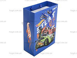Пакет пластиковый подарочный Hot Wheels, HW13-204K, купить
