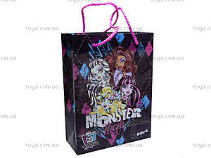 Пакет подарочный Monster High, MH14-204K