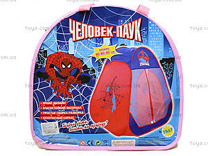 Палатка Spiderman для малышей, 803, отзывы