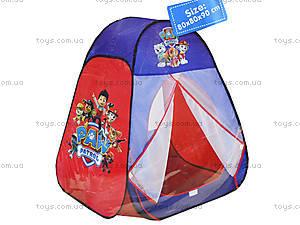 Палатка «Paw Patrol» в сумке, 817, купить