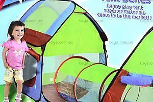 Палатка-домик с переходом, 999-143, отзывы