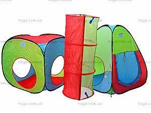 Палатка игровая с переходом, A999-148, фото
