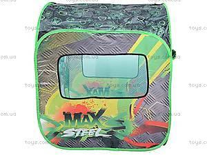 Палатка Max Steel, зеленая, LDT2013A2, отзывы