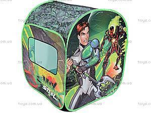 Палатка Max Steel, зеленая, LDT2013A2, детские игрушки