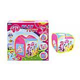 Палатка «My little Pony» (коробка) , 995-7110C, фото