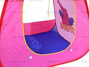 Палатка «Спайдермен», 889-32B, игрушки