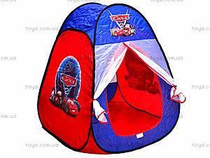 Палатка в сумке «Тачки», 811S, игрушки