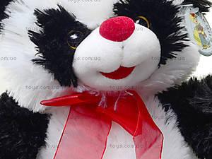 Плюшевая панда с красным бантом, 620660, купить