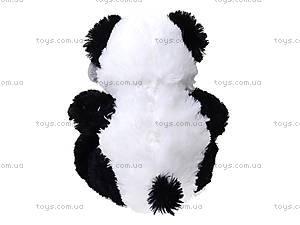 Плюшевая панда с красным бантом, 620660, фото