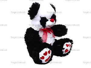 Плюшевая панда с красным бантом, 620660, отзывы