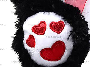 Плюшевая панда с красным бантом, 620660, игрушки
