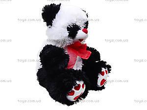 Большая музыкальная игрушка панда с красным бантом, 620670, отзывы