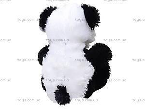 Большая музыкальная игрушка панда с красным бантом, 620670, цена