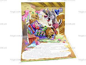 Детская книга-панорама «Красная шапочка», М16102У, купить