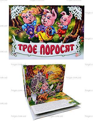 Книга-панорама «Трое поросят», М16354У