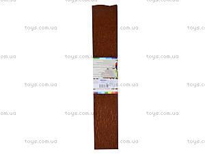 Цветная креповая бумага, коричневая, 10700613, отзывы