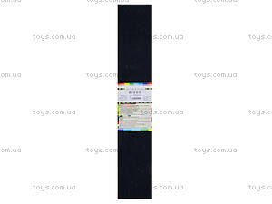 Цветная креповая бумага, черная, 10700611, фото