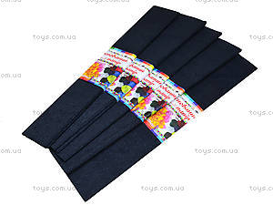 Цветная креповая бумага, черная, 10700611, отзывы